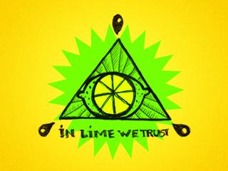 Логотип музыкальной группы Лайм