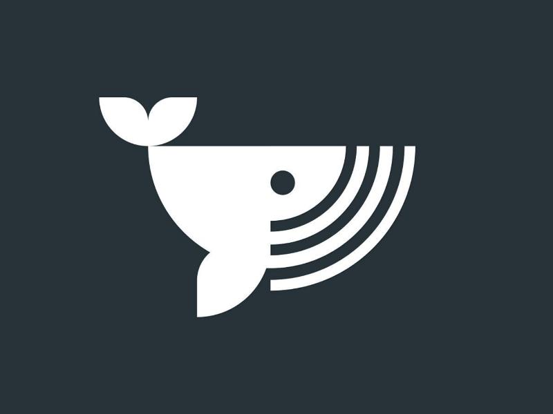 Logo whale